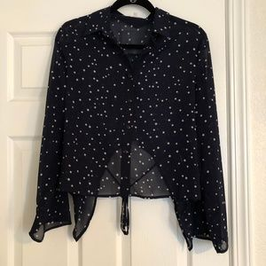 Urban Outfitters Lucca Star Blouse